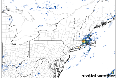 A Computer Simulated Radar Image For Friday Afternoon