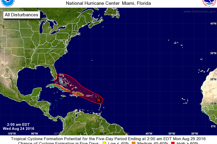 NHC Monitoring Another System