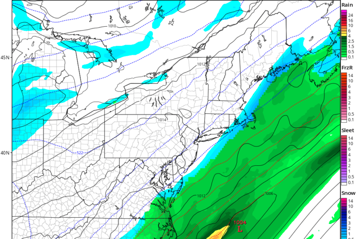 Cooling Off. First Flakes of the Season Possible This Weekend