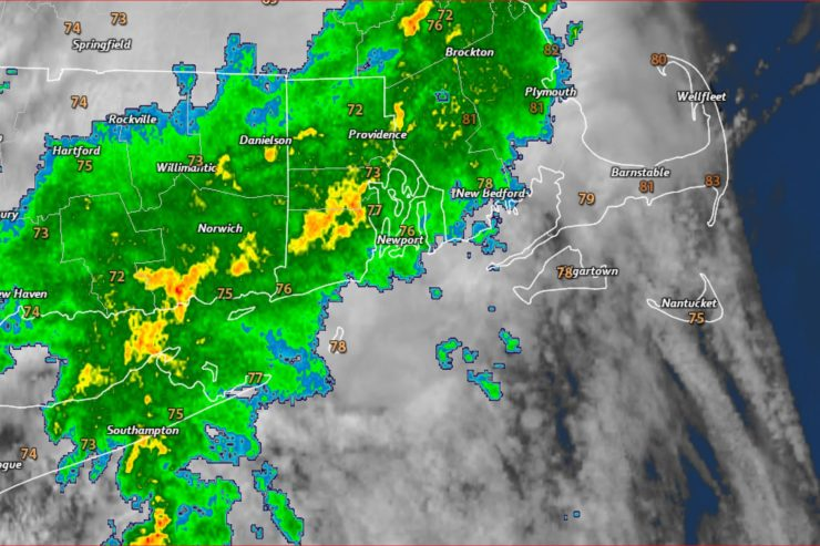 Showers, Some Thunder, Possible This Afternoon