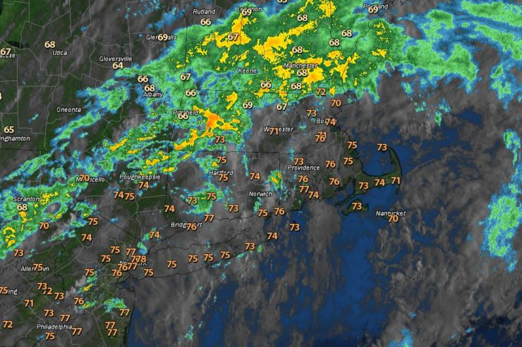 Warm and Humid…Some PM Downpours
